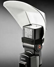 Flash Bounce Reflector Card Diffuser for YONGNUO YN-565 YN-560 YN-468 YN460 II