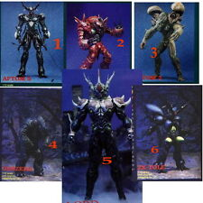 "7""Lot of 6 Different Guyver Monstrous Set 1 Vinyl kits 1/12"