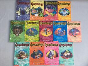 13 x Goosebumps Books Collection Bundle R. L Stine Vintage 90s Halloween Horror