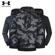 2020 Mens Under Armour Hybrid Fleece Full Zip Hoody Jacket Camouflage coat