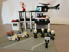 Lego 6386 Police Command Base - 100% Complete