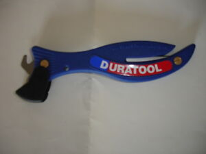 SAFETY KNIFE FISH STYLE DURATOOL F200 box cutter tape