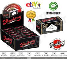 CARTINE SMOKING DELUXE ROLLS DE LUXE ROLLEN 4 METRI  Astucci 12 / 24 PACCHETTI