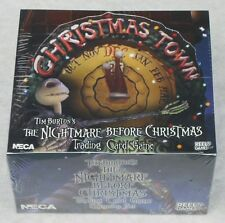 THE NIGHTMARE BEFORE CHRISTMAS TCG 36 PACK BOX CHRISTMAS TOWN + EXTRAS NEW