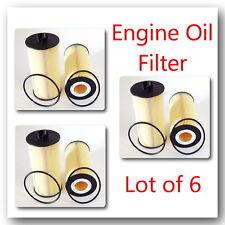 Lot of 6 CH9549 Engine Oil Filter Fits: Ford 2003-2010 V6 6.0L 6.4L
