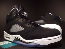 Nike Air Jordan V 5 Retro OREO BLACK WHITE WOLF COOL GREY SILVER 136027-035 13