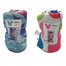 New Disney Frozen Minnie Mouse Slumber Sleeping Bag Sleep Over Bag Size 66 x 30