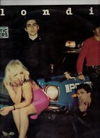 BLONDIE Plastic Letters AUSSIE LP NEW WAVE Debbie Harry