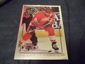1996-97 Topps Picks OPC Parallel Inserts #31 Steve Yzerman Red Wings