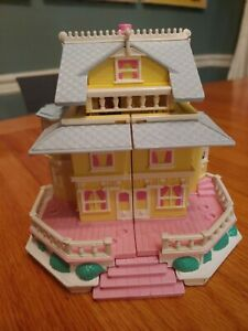 Polly Pocket Vtg 1995 Clubhouse Pop-Up Party Play House Bluebirds