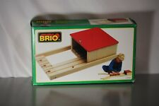 Vintage Deadstock BRIO BOXED BIG ENGINE SHED 33366 BRAND NEW