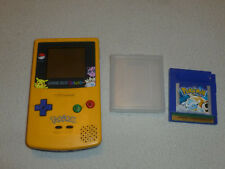 POKEMON EDITION LIMITED NINTENDO GAMEBOY COLOR SYSTEM & GAME LOT BLUE VERSION