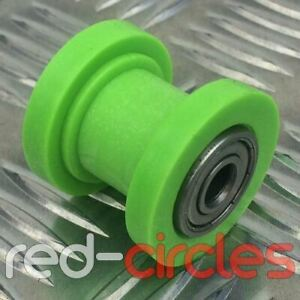 GREEN 10mm PIT BIKE CHAIN ROLLER / GUIDE FITS 125cc 140cc 160cc PITBIKES