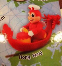 "2018 Jollibee figure 4"" toy AROUND THE WORLD 2  Hong Kong mip sealed"