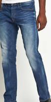 G Star Raw Defend Straight Mens Jeans Straight Fit Medium Aged 29W 32L *REF09