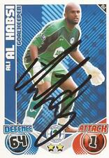 ALI  AL-HABSI SIGNED WIGAN 2010/2011 MATCH ATTAX TRADING CARD+COA