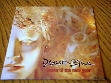"""DEACON BLUE - QUEEN OF THE NEW YEAR  7"""" VINYL PS"""