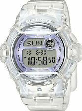Casio Baby-G Shock BG169R-7E Brand New Womens Clear Purple Whale Digital Watch