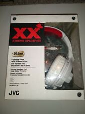 JVC XX Xtreme Xplosives On Ear Wired Headphones White HA-M55X-W NEW