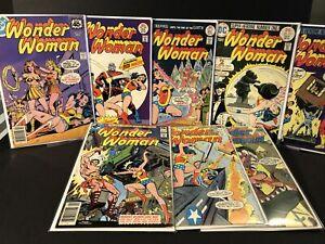 DC Wonder Woman Comic Lot #213,218,231,228,250,257,258,259 ~4.0-6.5~ (RC)