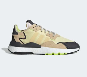 """New adidas Nite Jogger Ultra """"Easy Yellow"""" mens Running Boost Shoes EE5868"""