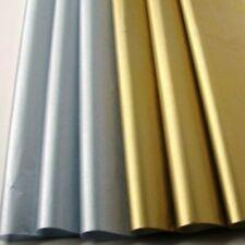 "Metallic Gold & Silver Tissue Paper Gift Wrap~24 Sheets 12 Ea~20"" x 30"""