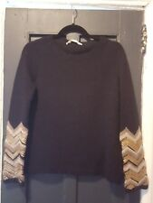 Jucca Sweater with embellished sleeve