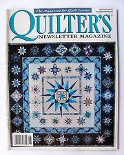 Quilter's Newsletter Magazine June 2005 No. 373 Quilt Quilting