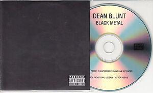 DEAN BLUNT Black Metal 2014 UK 13-track promo test CD