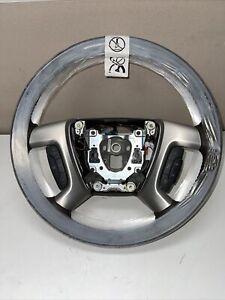 2007- 2014 GM Steering Wheel Cocoa (Brown) w/Wood Trim OEM NEW