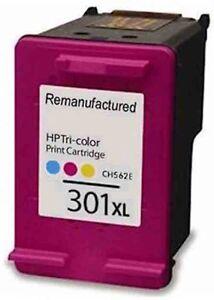 Refilled Ink For HP 301XL Colour Ink Cartridge For HP Deskjet 2540