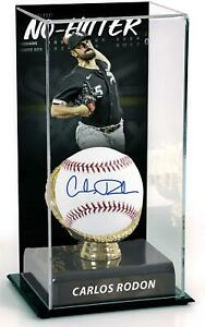Carlos Rodon Chicago White Sox Signed Baseball and Sublimated No-Hitter Case