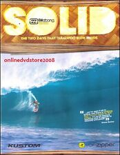 SOLID The TWO DAYS That TEAHUPOO BLEW MINDS - Billabong PRO TAHITI Surfing DVD