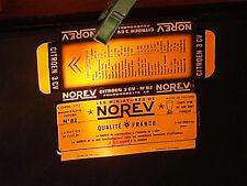 REPLIQUE SOCLE DE BOITE CITROEN 2CV AK FOURGONNETTE  NOREV 1964