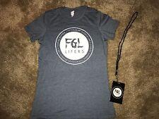 Florida Georgia Line FGL Lifers Fan Club Woman's XL T-shirt With Lanyard