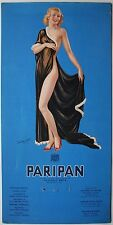 Original Early 20th century Paripan Glamour showcard, calendar. Art Deco. (a)
