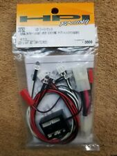 HPI  RACING 38762 LED LIGHT SET WHEELY KING 4X4 E10 DRIFT CAR WHITE & RED LIGHTS