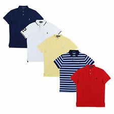 Polo Ralph Lauren Camisa Polo para hombre Manga Corta De Malla Personalizadas Calce Ajustado S M L XL XXL