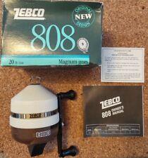 1988 Vintage Zebco 808 Spin-Cast Reel Made in Usa Nos