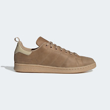 adidas Mens Stan Smith Shoes with cold weather in mind brown
