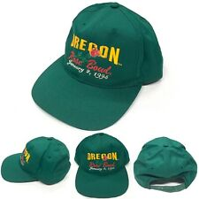 VTG Vintage 1995 Oregon Ducks Rose Bowl Snapback Hat NCAA Rare