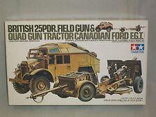 British 25Pdr. Field Gun & Quad Gun Tractor (Canadian Ford F.G.T.) 1/35