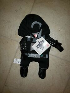 "NEW Petco Star Wars DARTH VADER Dog Costume w/ Sound SIZE S Halloween""""' read"""""