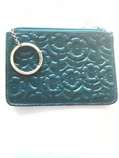 Brighton Teal Embossed Croc  Key Coin Purse