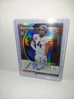 2020 Panini Prizm Draft Picks Jordan Mack Silver Auto RC Card Virginia