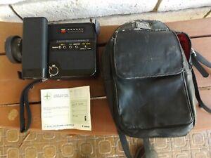 Canon Canosound 312XL-S Super 8 Film Movie Camera with Case