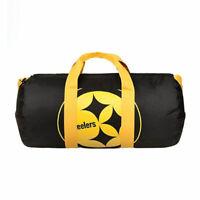NFL Pittsburgh Steelers Vessel Barrel Duffle Bag