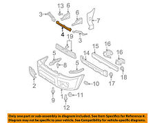 TOYOTA OEM 06-09 4Runner FRONT BUMPER-Reinforcement Plate 5212335160