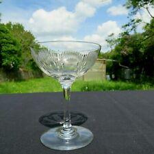 coupe a champagne en cristal de baccarat modèle molière
