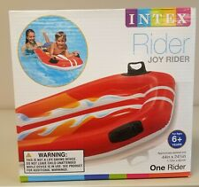 INTEX Inflatable Rider -  Boat Joy Rider w Handles - NEW for Pool or Beach